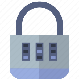 combination, encryption, lock, protection, security icon