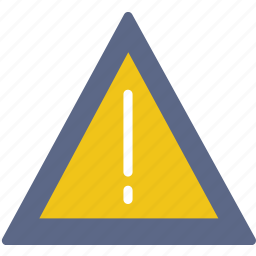 hazard, protection, security, traffic, warning icon