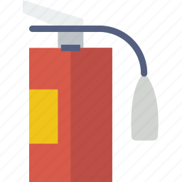 extinguisher, fire, firefighter, fireman, foam, water icon