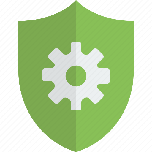 antivirus, encryption, protection, security, settings icon