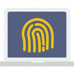 biometric, code, encryption, fingeprint, protection, security icon