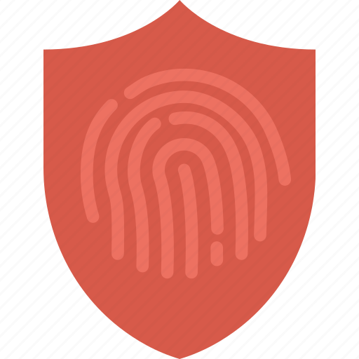antivirus, encryption, fingerprint, protection, security, virus icon