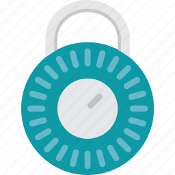 combination, lock, protection, security icon