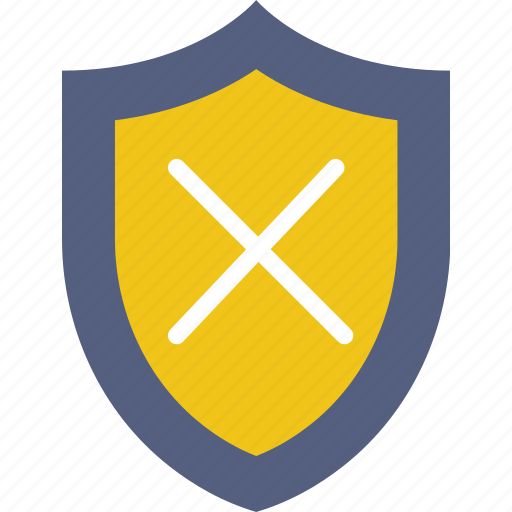 antivirus, encryption, protection, security, system, unprotected icon