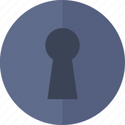 key, keyhole, protection, security icon