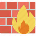 encryption, firewall, protection, security icon