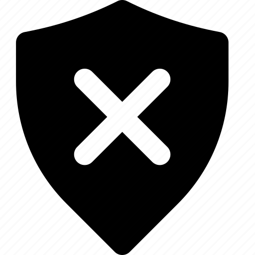 protection, secure, security, system, unprotected icon
