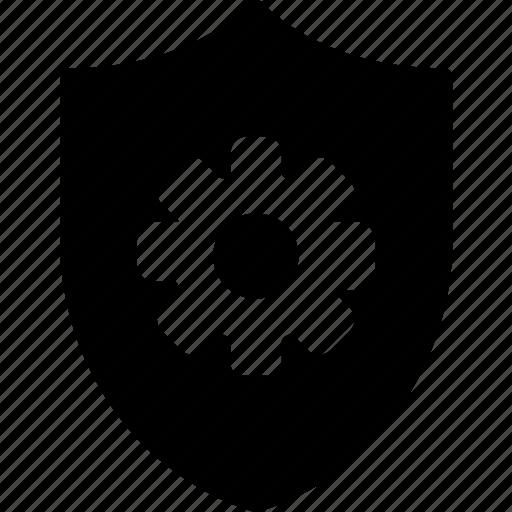 antivirus, encryption, protection, security, settings icon