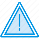 danger, hazard, protection, security, traffic, warning icon