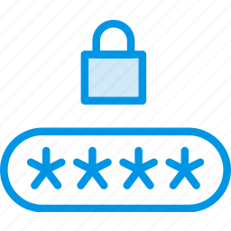 code, encryption, password, pin, protection, security icon
