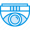 camera, dome, protection, security, surveillance, video icon