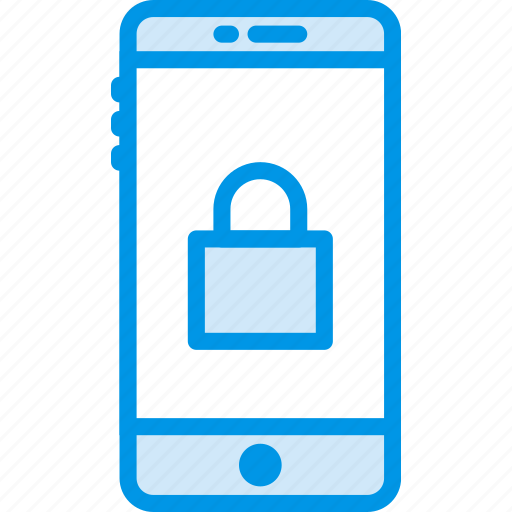 code, encryption, password, phone, protection, security icon