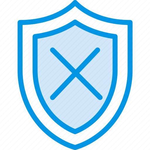 encryption, protection, security, system, unprotected icon