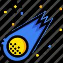 comet, cosmos, hubble, space, universe icon