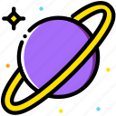 cosmos, saturn, space, universe icon