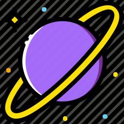 cosmos, saturn, space, universe icon