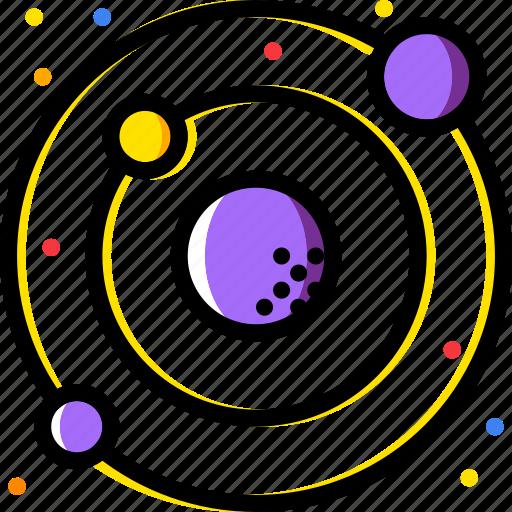 cosmos, solar, space, system, universe icon
