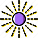 cosmos, space, sun, universe icon