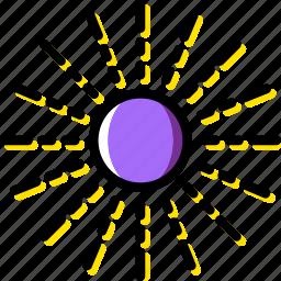 cosmos, space, sun, universe icon