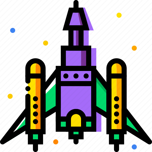 cosmos, fighting, space, spaceship, universe icon