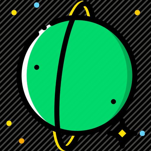cosmos, space, universe, uranus icon
