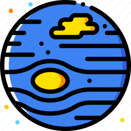 cosmos, jupiter, space, universe icon