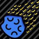 cosmos, meteorite, space, universe icon
