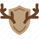 antlers, camping, deer, hunting, outdoor, survival, trophy