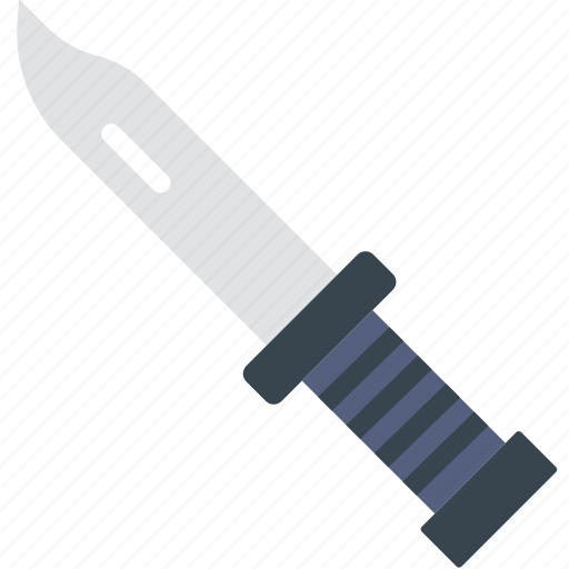 camping, cut, knife, outdoor, stab, survival icon