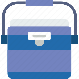 beverages, camping, freezer, ice, outdoor, survival icon