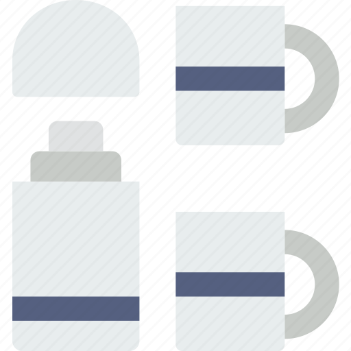 beverage, camping, hot, outdoor, survival, thermos icon