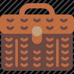 basket, camping, food, outdoor, survival icon