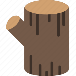 camping, cut, log, outdoor, survival, wood icon