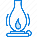 camping, fire, gas, lamp, outdoor, survival icon