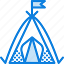 outdoor, camping, nature, shelter, survival, tent icon