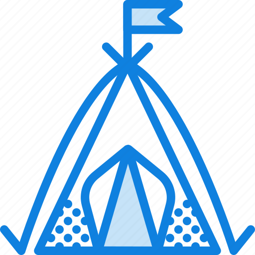 camping, nature, outdoor, shelter, survival, tent icon