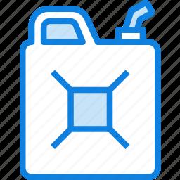 camping, fuel, gas, gasoline, jerry, outdoor, survival icon