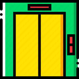 elevator, journey, travel, voyage icon