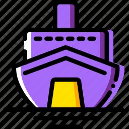 cruise, journey, travel, voyage icon
