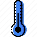 climate, normal, precipitation, temperature, weather icon