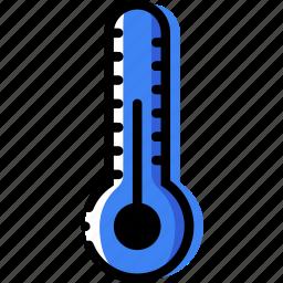 climate, normal, precipitation, temperature, weather icon
