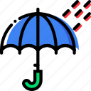 climate, precipitation, rainy, time, weather icon
