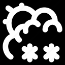 drizzle, forecast, weather icon