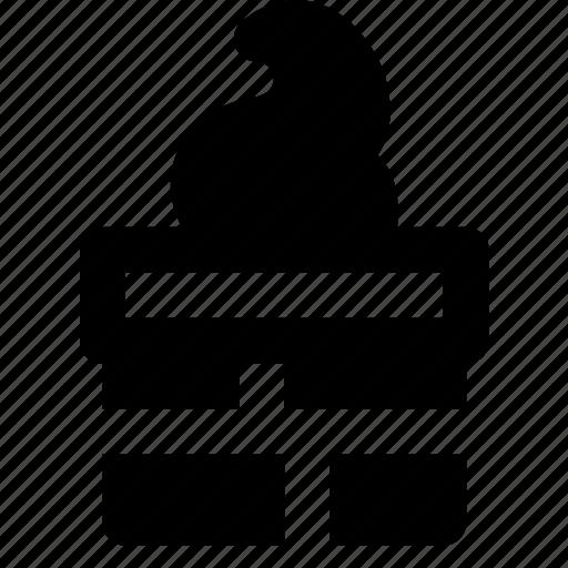 chimney, christmas, holiday, winter icon