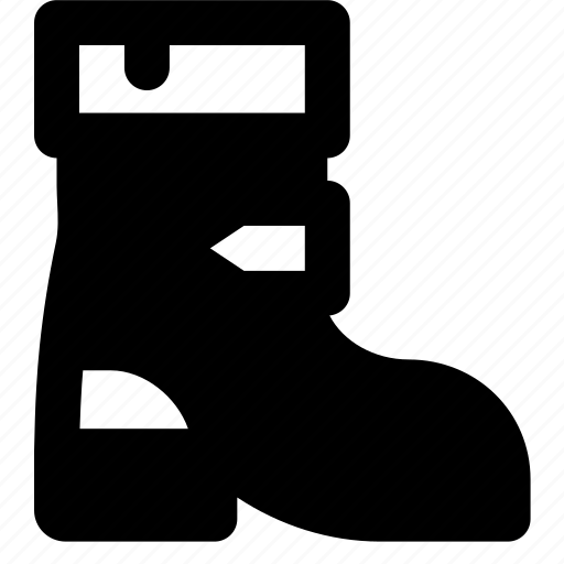 boots, christmas, holiday, winter icon
