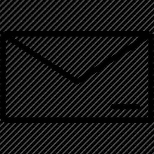 conversation, email, envelope, letter, mail, message, unread icon