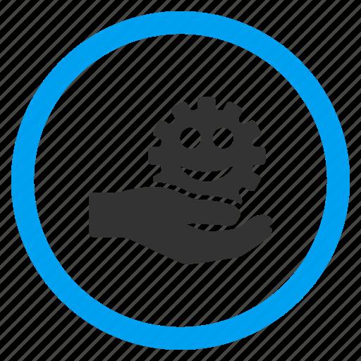 configuration, development service, hardware, mechanics, settings, support, work icon