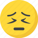 depressed, emoticon, sad face, sad smiley, unhappy icon