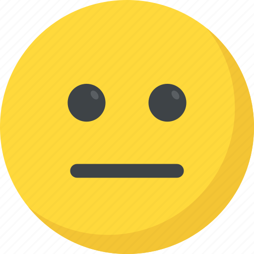 emoticon, expressionless face, silence, speechless, voiceless icon