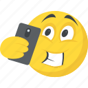 emoji, emoticon, photography, selfie emoji, smiley icon